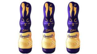 Cadbury Caramilk now comes as a Easter bunny!