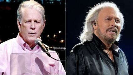 Barry Gibb and Brian Wilson hint at possible 'collaboration'
