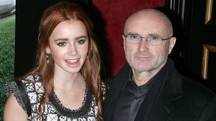 Phil Collins' daughter, Lily, stuns with beautiful dress for the Golden Globes