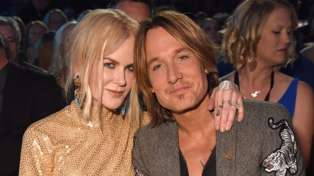 Nicole Kidman and Keith Urban's daughters make rare appearance at the Golden Globes