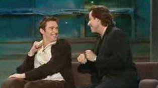 Hugh Jackman shares hilarious throwback video performing Grease duet with John Travolta