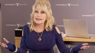 Dolly Parton features in humorous video encouraging fans to get COVID vaccine