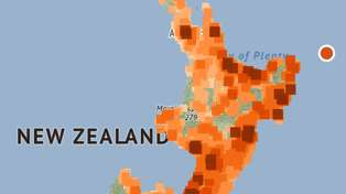 Tsunami warnings for the North Island after third massive earthquake