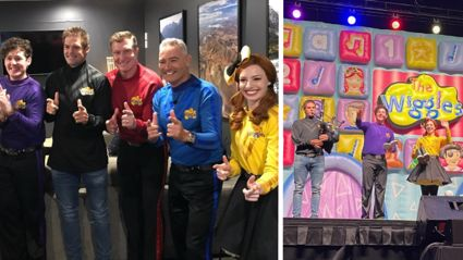 All Blacks legend Richie McCaw joins The Wiggles on stage for special guest appearance