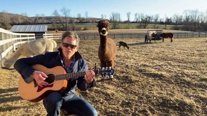 Kevin Bacon sings beautiful cover of Backstreet Boys' 'I Want It That Way' to his pet alpacas