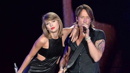 Keith Urban has joined forces with Taylor Swift for two new duets