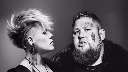 Pink shares teaser clip of her surprise duet with Rag'n'Bone Man - and we are loving it!