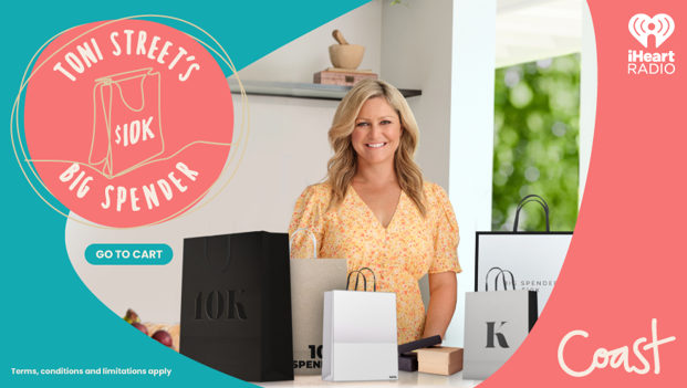 Win a $10,000 shopping spree with Coast's Big Spender
